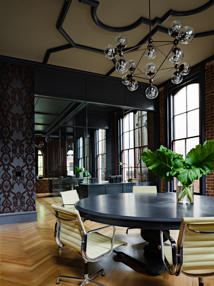 Gothic office by jessica helgerson interior design - Lloyds architecture planning interiors ...