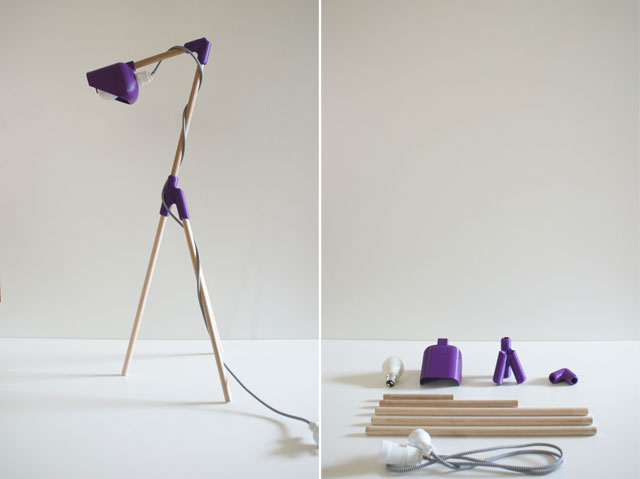 Yellowtrace Spotlight // Mr. Dowel Jones Lamp by Adam Lynch & Dale Hardiman.