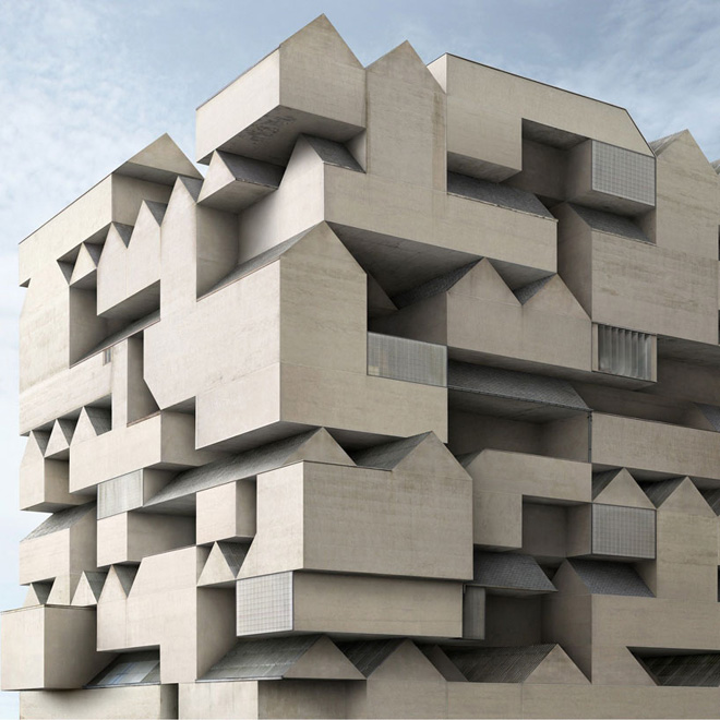 Fictional Architecture by Filip Dujardin