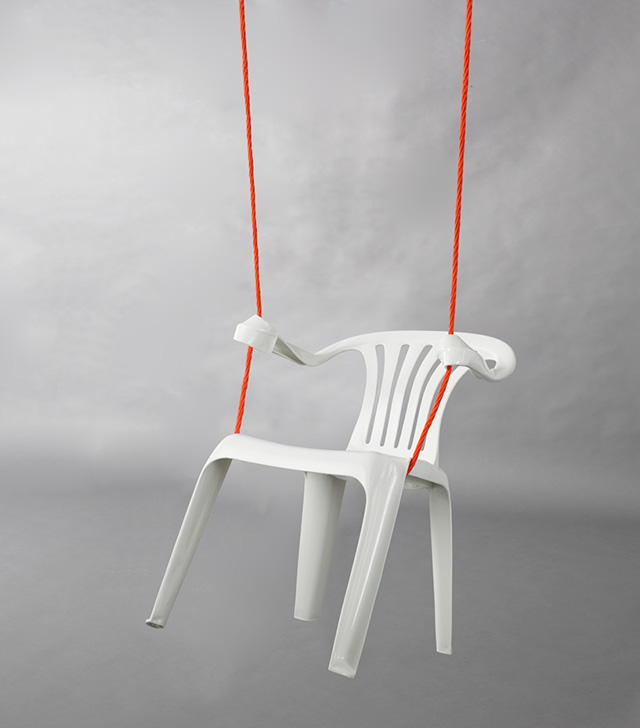 monobloc rocking chair