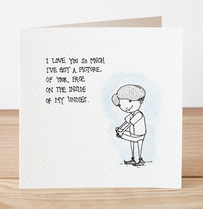 Creepy and Funny Valentines Day Cards