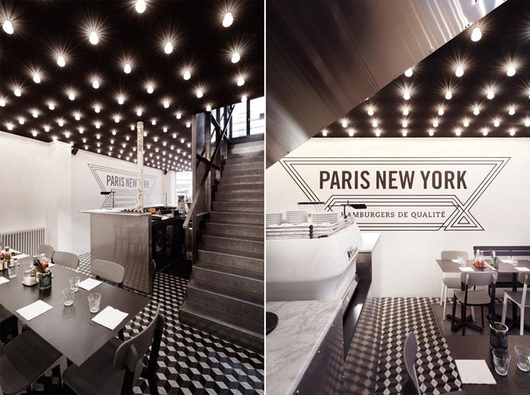PNY restaurant design details