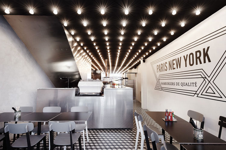 Paris new york restaurant design by cut architectures