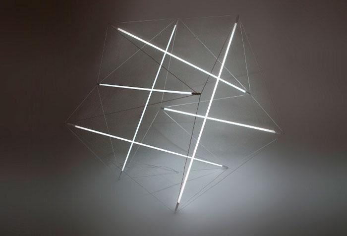 Lovely linear lighting design.