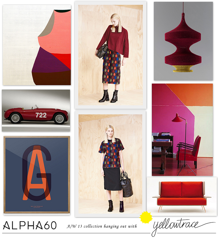 Alpha60 A/W13 Collection hanging out with Yellowtrace // Look 01.
