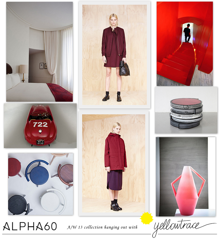 Alpha60 A/W13 Collection hanging out with Yellowtrace // Look 02.