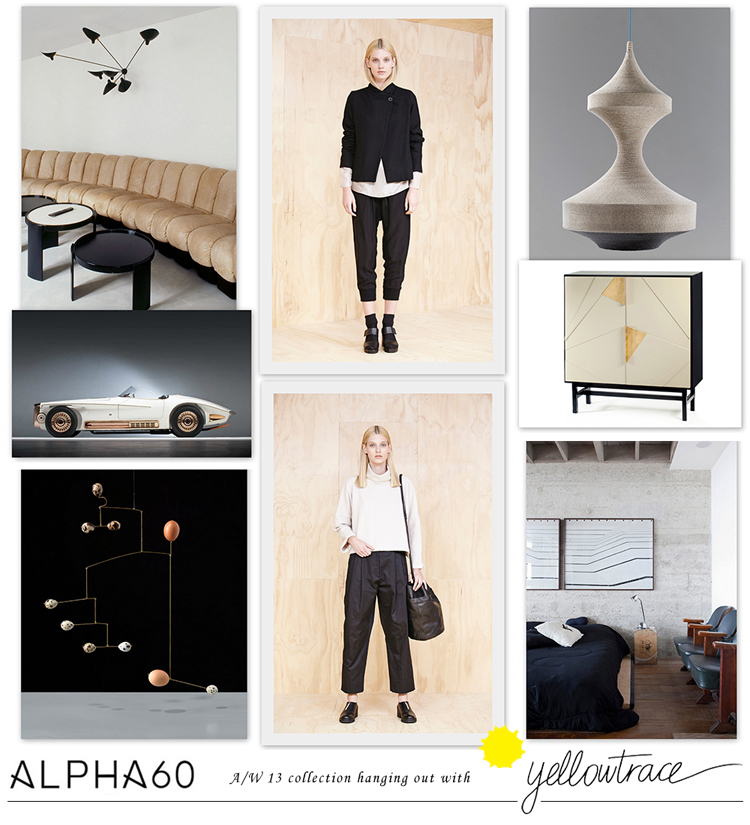 Alpha60 A/W13 Collection hanging out with Yellowtrace // Look 05.