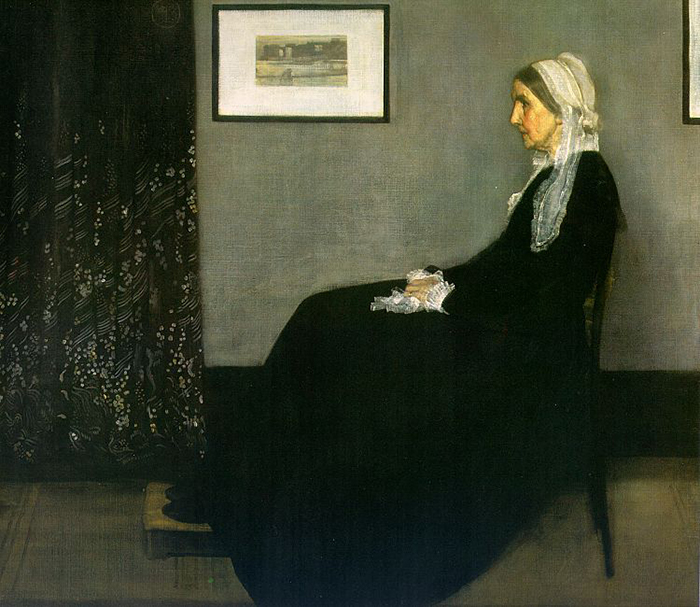 """""""Whistler's Mother"""" by James McNeill Whistler 