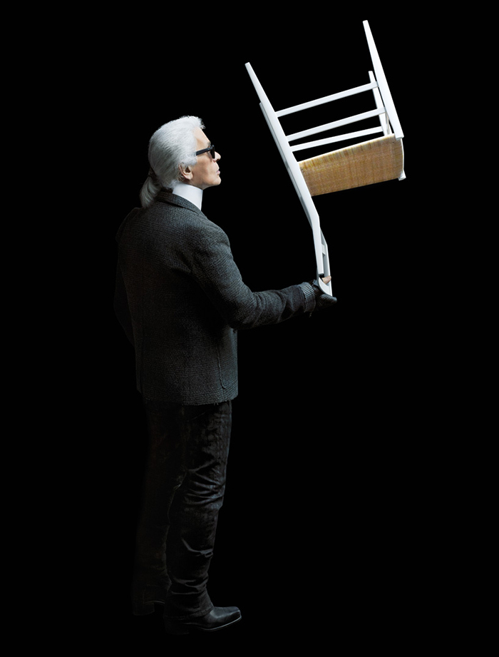 Karl Lagerfeld Photographs Iconic Furniture From Cassina.