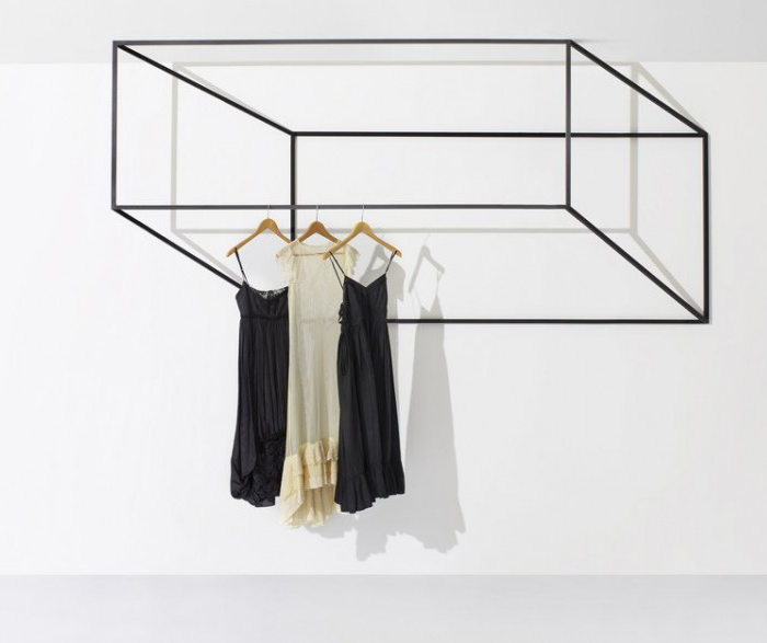 Les Ailes Noires Clothes Racks by John Tong | Yellowtrace.