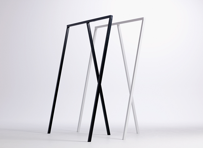 The Loop Stand by Leif Jørgensen for HAY | Yellowtrace.