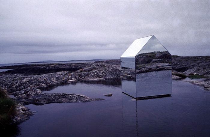 Mirror House temporary installation by German artist Ekkehard Altenburger | Yellowtrace.