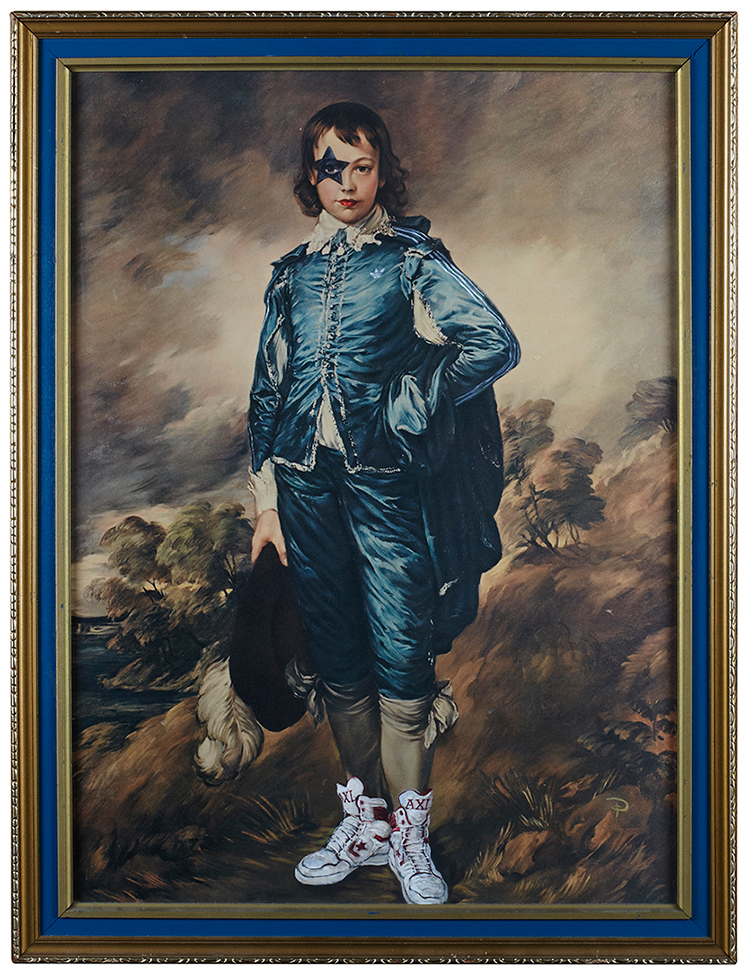 Sydney artist Philjames.