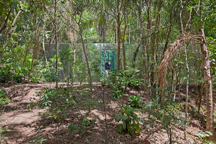 Vegetation Room Inhotim by Cristina Iglesias | Yellowtrace.