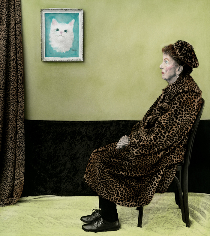 """""""Whistler's Mother"""" Reinterpreted by Aline Smithson 