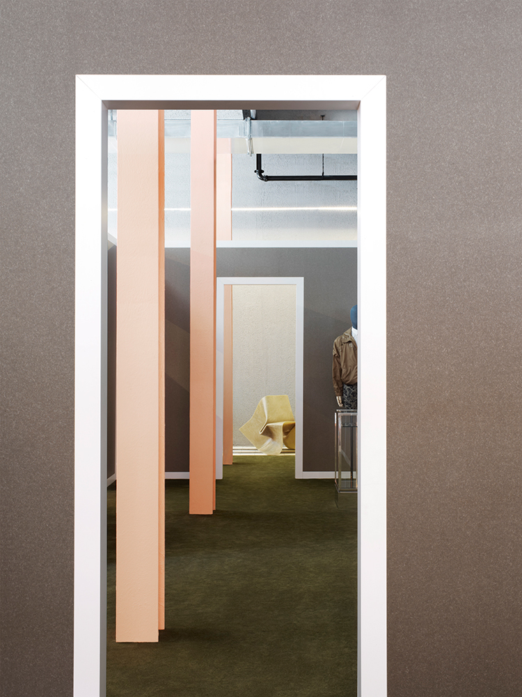 Acne Studio in New York by BOZARTHFORNELL ARCHITECTS | Yellowtrace.