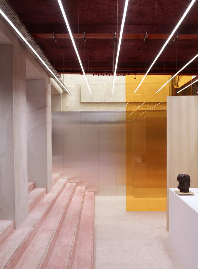 Acne Studio in Paris by BOZARTHFORNELL ARCHITECTS | Yellowtrace.