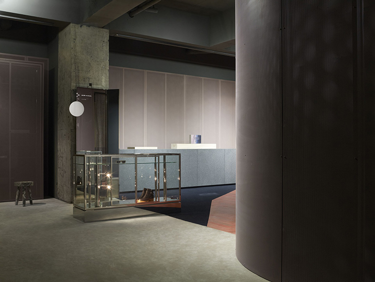 Acne Studios in Tokyo by BOZARTHFORNELL ARCHITECTS | Yellowtrace.