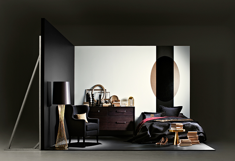 Dulux styling for LMFF, Room Inspired by Kirrily Johnston AW13 | Yellowtrace.