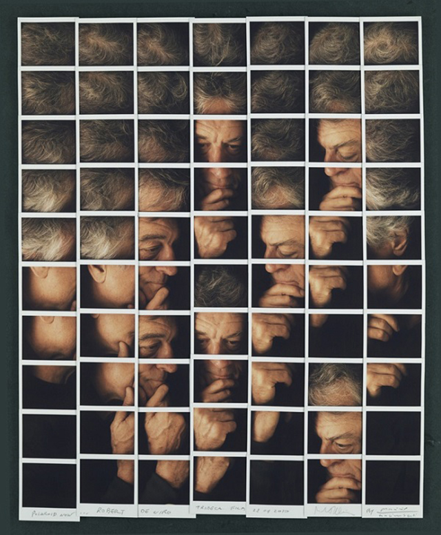 Polaroid Portrait Mosaic by Maurizio Galimberti | Yellowtrace.