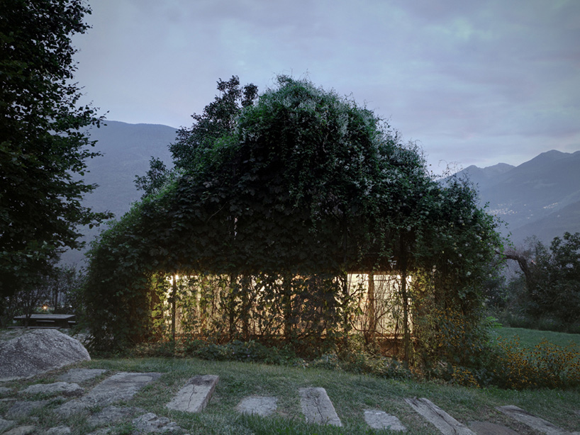 Greenbox by Act Romegialli, Italy // via yellowtrace