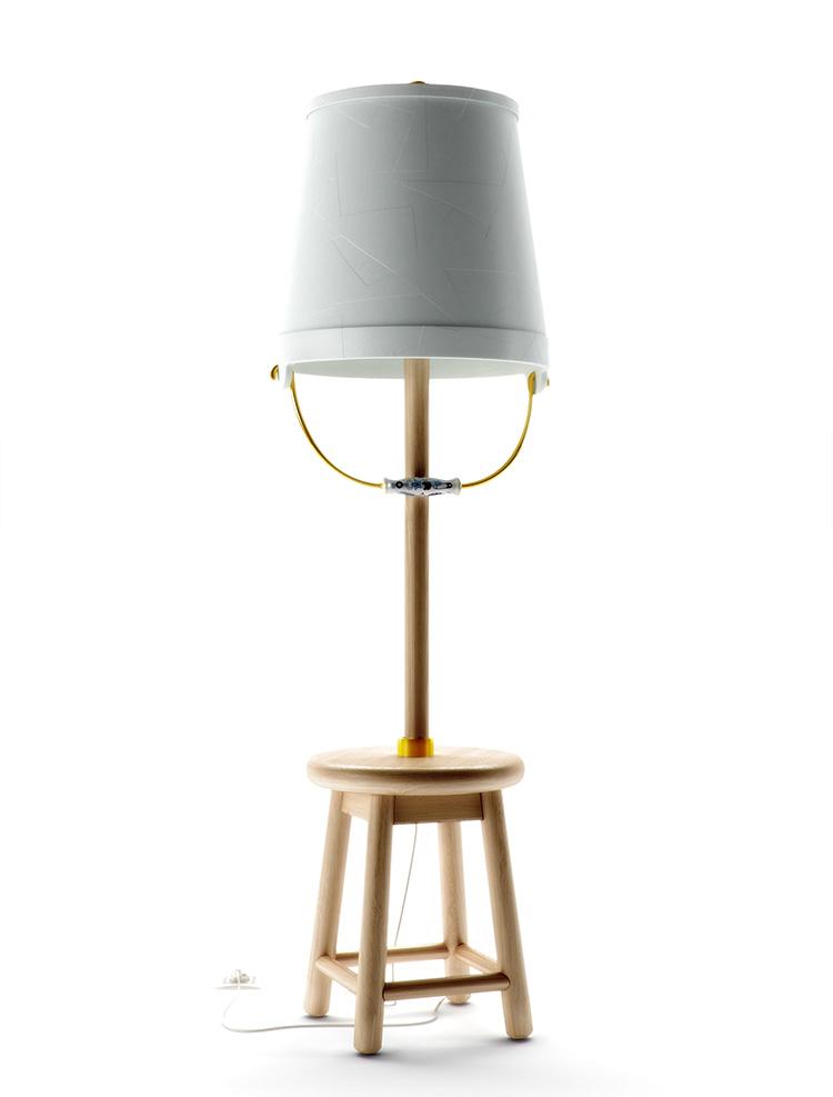 Bucket Floor Lamp by Studio Job for Moooi   Yellowtrace.