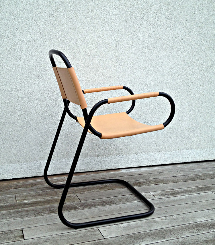 ECCO Dining Chair by Andrea Borgogni at Salone Satellite 2013 | Yellowtrace.