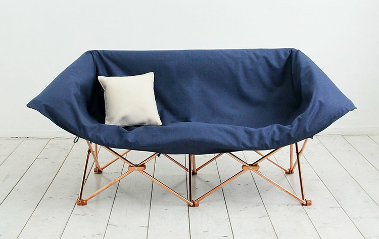 KAMP Sofa by Studio KAMKAM at Salone Satellite 20130 | Yellowtrace.
