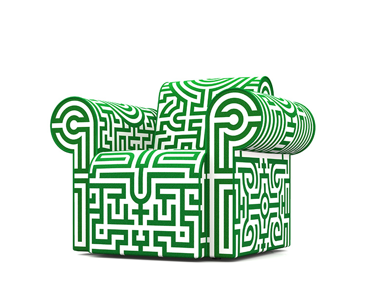 Labyrinth Chair Original by Studio Job for Moooi | Yellowtrace.