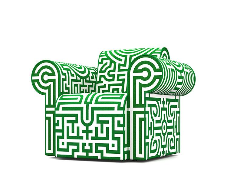 Labyrinth Chair Original by Studio Job for Moooi   Yellowtrace.
