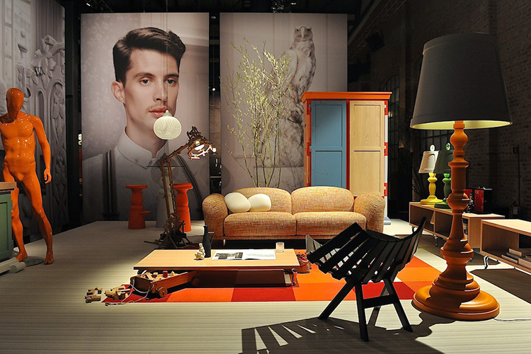 moooi unexpected welcome with erwin olaf milan 2013. Black Bedroom Furniture Sets. Home Design Ideas