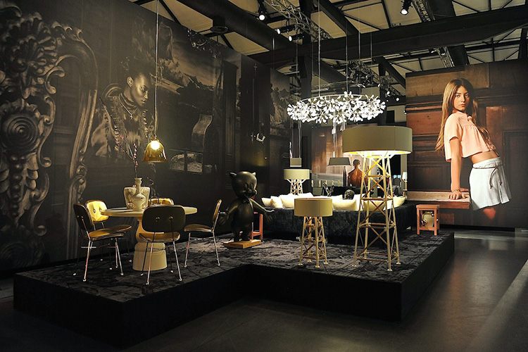 Moooi Unexpected Welcome show at Milan Design Week 2013 // Photo ©<br /> Yellowtrace.