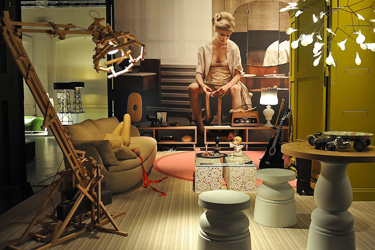 Moooi Unexpected Welcome show at Milan Design Week 2013 // Photo © Yellowtrace.