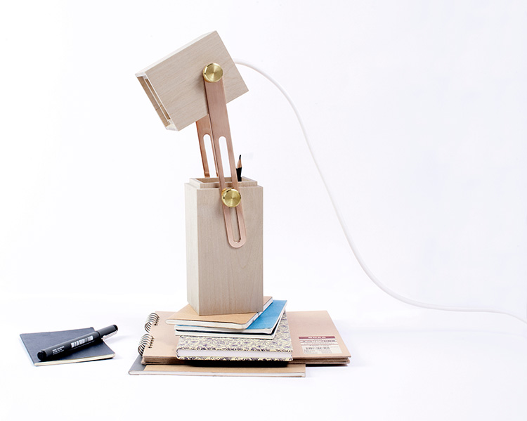 PENCIL LIGHT table lamp by Caroline Olsson Salone Satellite 2013 | Yellowtrace.