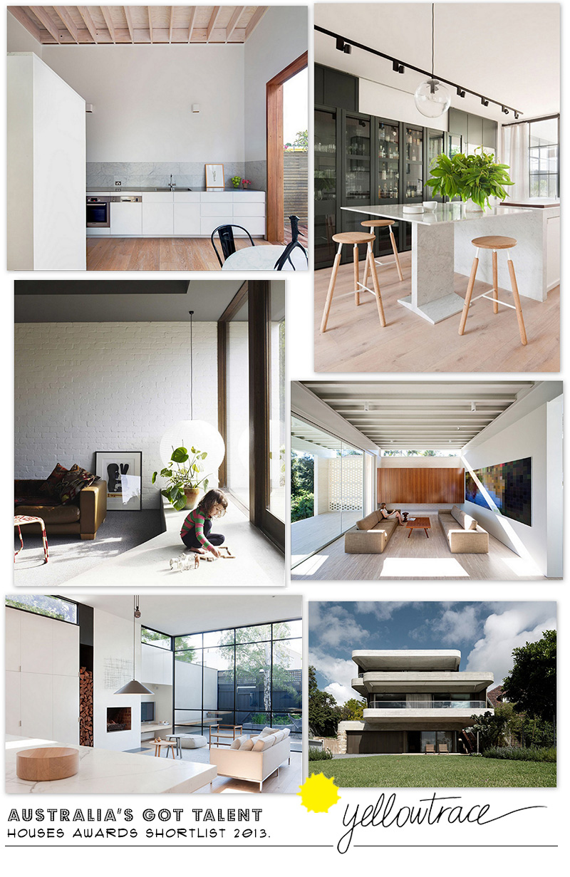 Australian Houses Awards Shortlist for 2013 | Curated by Yellowtrace.