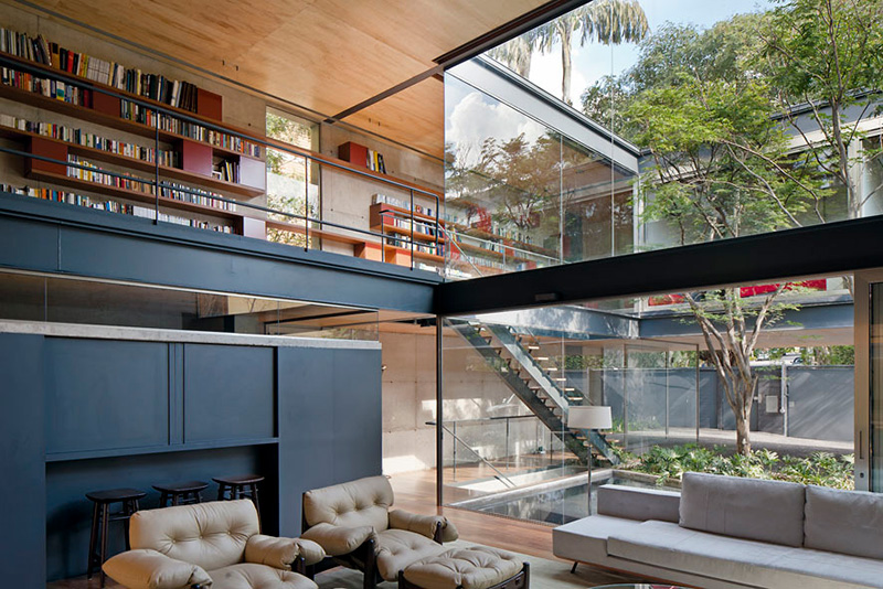 Bacopari House by UNA Arquitetos, São Paulo, Brazil | Yellowtrace.