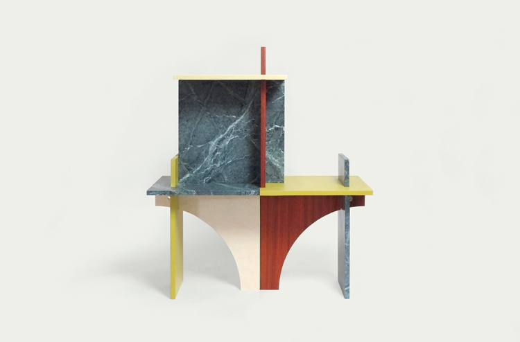 Face Value side tables by Earnest Studio at Ventura Lambrate 2013 | Yellowtrace.