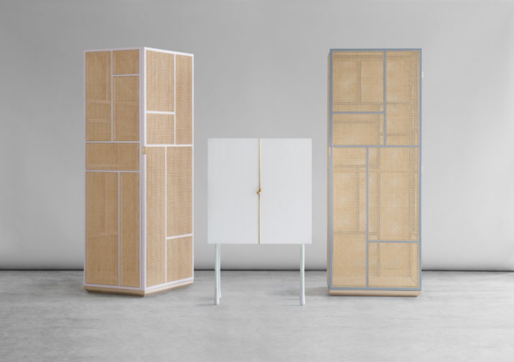 GRAND Cabinets by Mathieu Gustafsson & Niklas Karlsson at Ventura Lambrate 2013 | Yellowtrace.