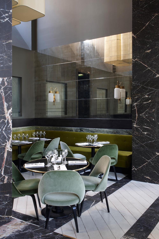 Monsieur Bleu Restaurant At The Palais De Tokyo In Paris