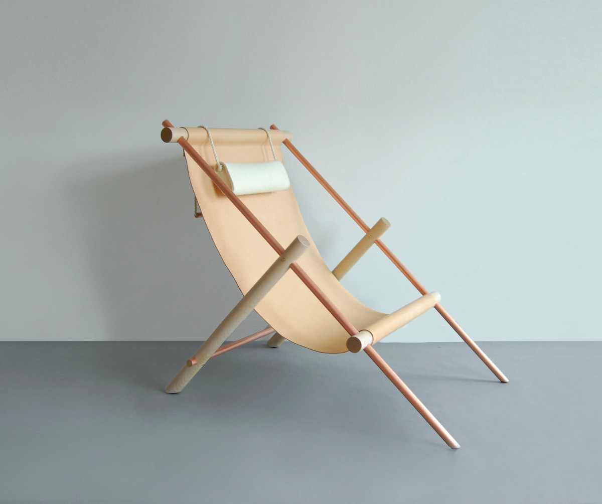 Ovis Lounge Chair by Ladies & Gentlemen Studio | Yellowtrace.