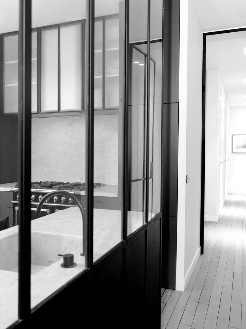 Paris Apartment by Belgian Architect Nicolas Schuybroek | Yellowtrace.