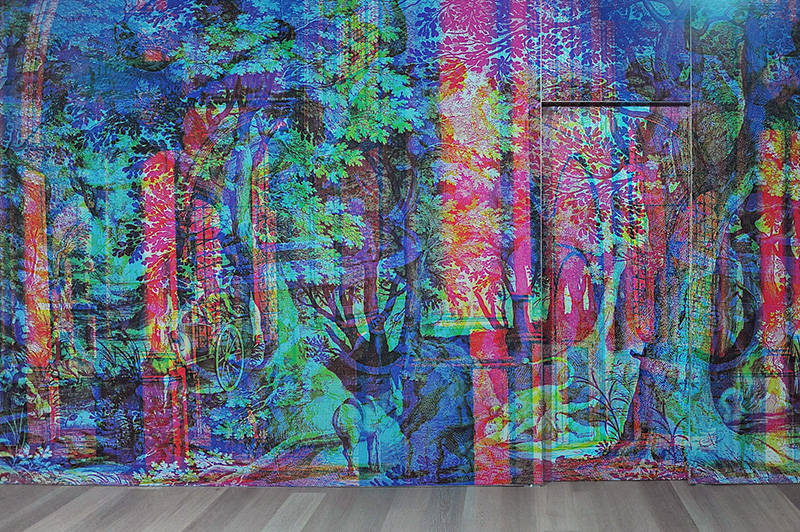 RGB Fabulous Landscapes by Carnovsky during Salone del Mobile 2013 | Photo by Nick Hughes for Yellowtrace.