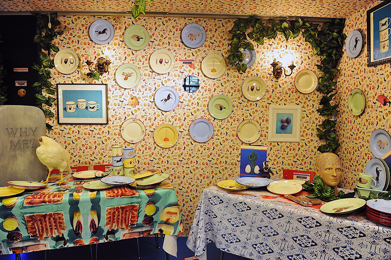 Seletti and ToiletPaper at Spazio Rossana Orlandi during Salone del Mobile 2013 | Photo by Nick Hughes for Yellowtrace.