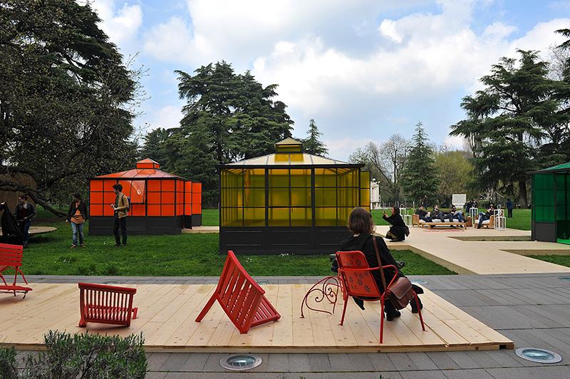 Unopiù in Wonderland by Ferruccio Laviani at Triennale di Milano during Salone del Mobile 2013   Photo by Nick Hughes for Yellowtrace.