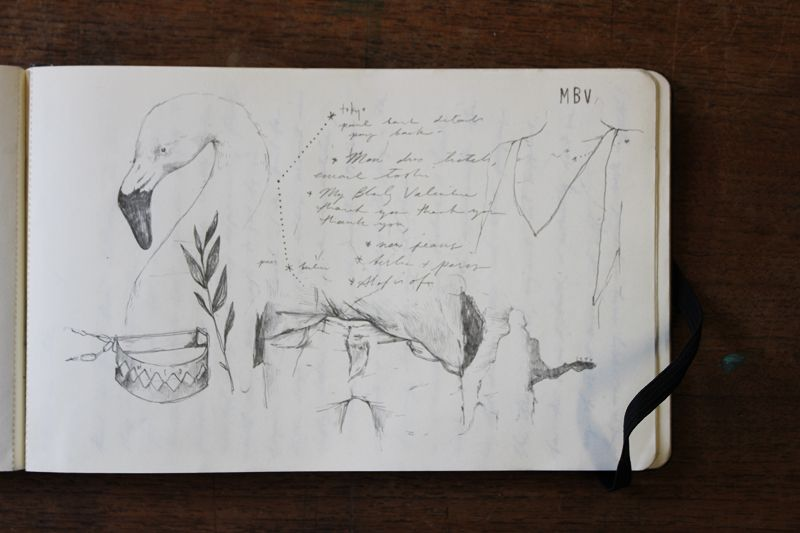 Sketchbook of Melbourne Artist Miso | Yellowtrace.