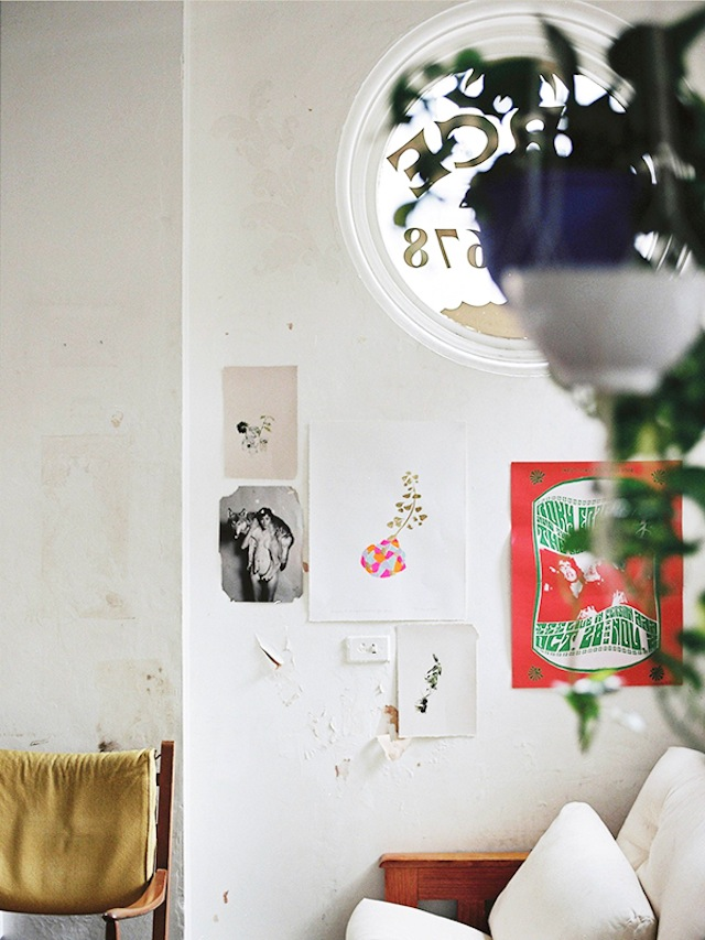 Melbourne artist Miso in her studio | Yellowtrace.