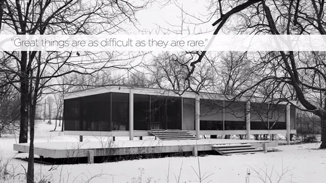 75 Years of Mies van der Rohe and His Chicago School [TV].
