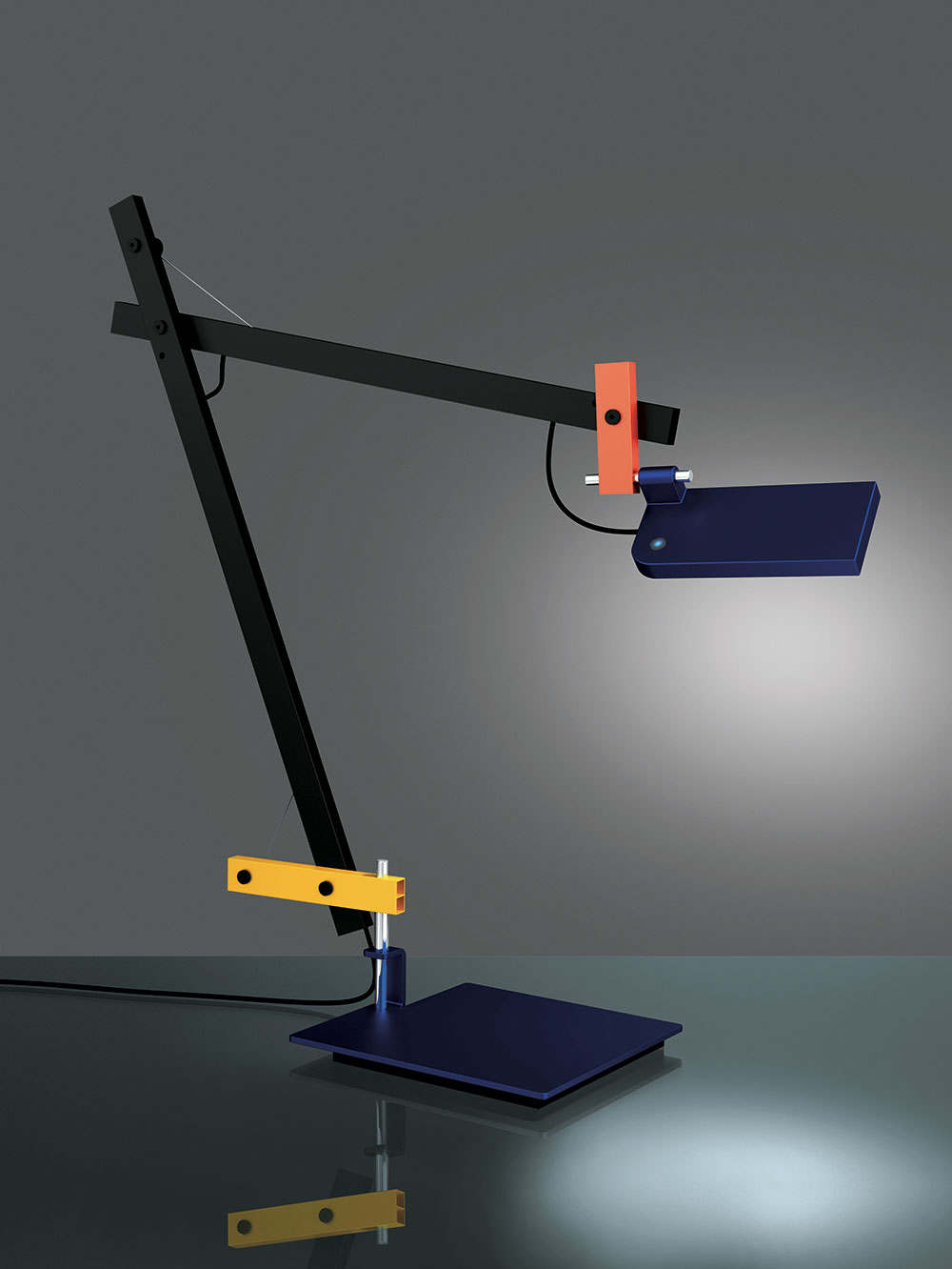LoTek Desk Lamp from Artemide | Yellowtrace.