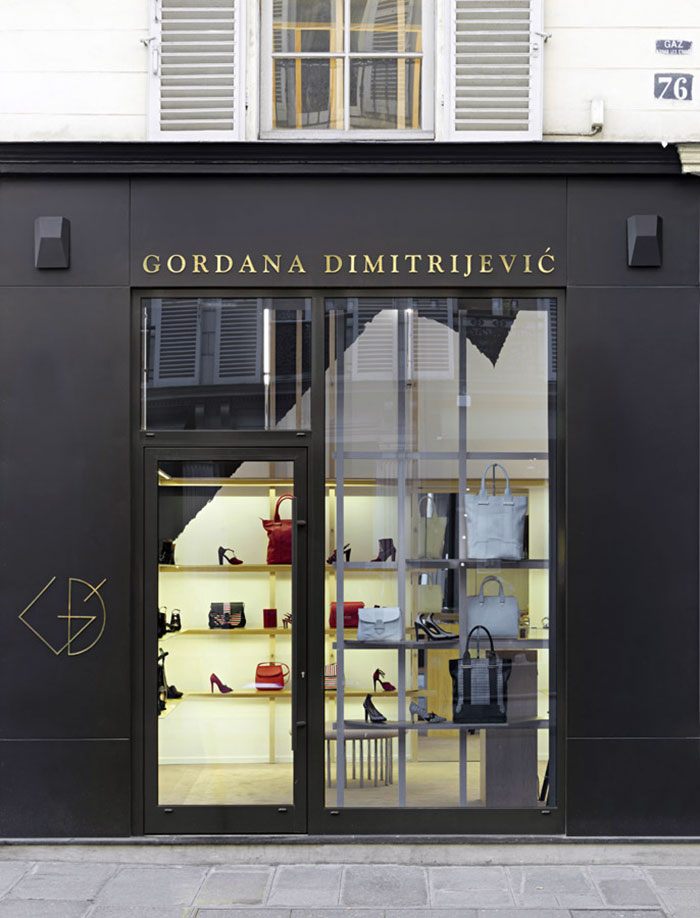 Gordana Dimitrijevic store in Paris by Element-s | Yellowtrace.
