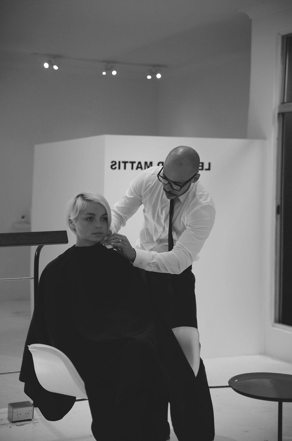 Sydney Hairdresser Leonard Mattis | Yellowtrace.